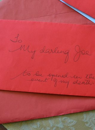 Letter to loved one from Better Endings project