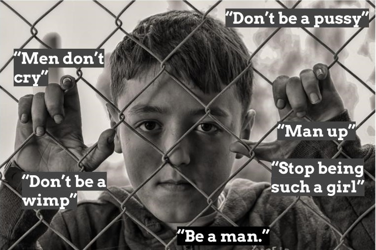 Be a man' - toxic masculinity, social media and violence | Innovation Unit  | New solutions for thriving societies