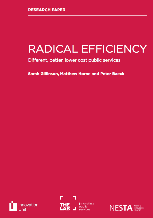 Radical Efficiency: Research paper