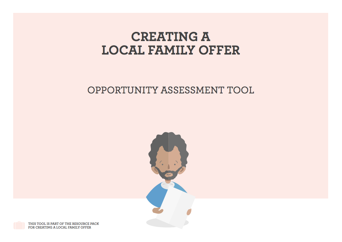 Creating a Local Family Offer - opportunity assessment tool