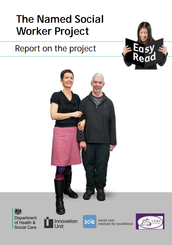 NAMED SOCIAL WORKER EASY READ REPORT