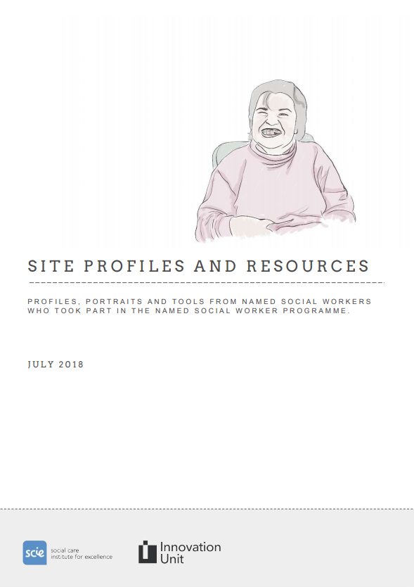 Named Social Worker site profiles and resources report
