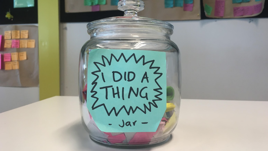 I did a thing jar
