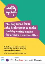 Healthy High Streets report cover