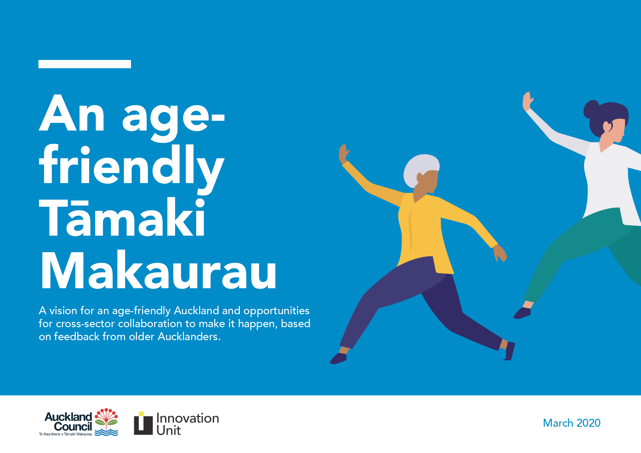 An age-friendly Tāmaki Makaurau