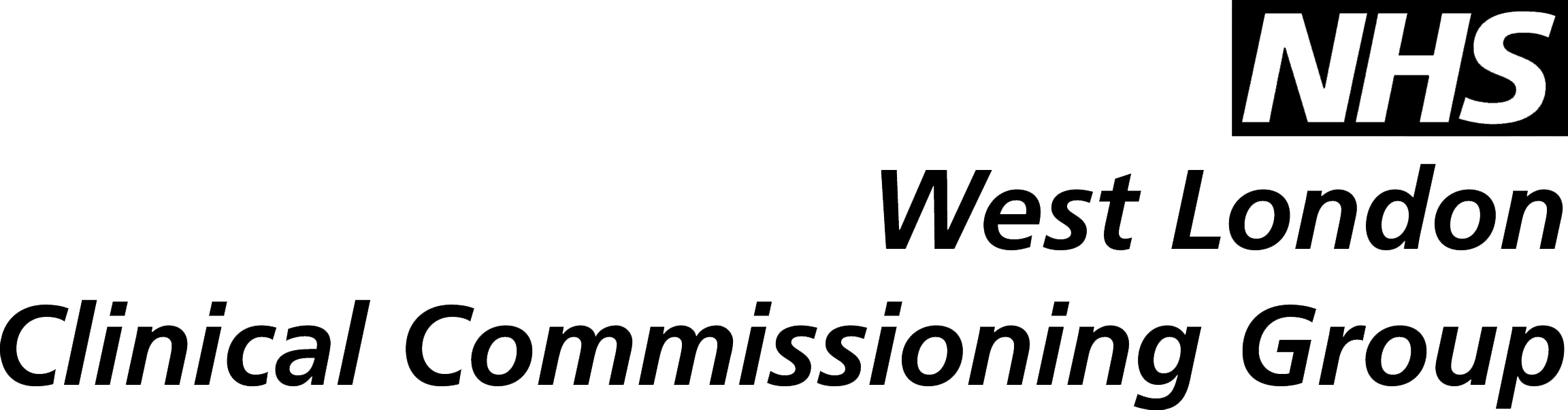 West London Clinical Commissioning Group logo